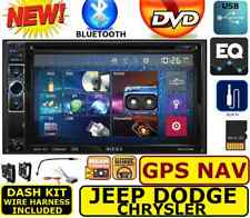 CHRYSLER JEEP DODGE GPS NAVIGATION SYSTEM BLUETOOTH/USB/EQ CAR RADIO STEREO PKG