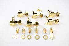 Gold 6 in line Proline Locking Tuners Set of 6