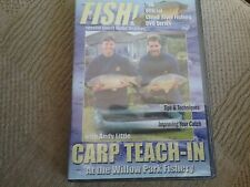 clean river fishing dvd series carp teach in andy little dvd new freepost
