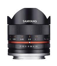Samyang 8 mm F2.8 II Fisheye Manual Focus Lens for Canon M
