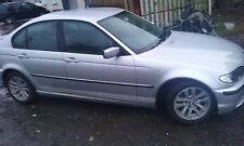 BMW 316i E46 SALOON 2005 N46 ENGINE N/S/FRONT BREAKING FOR PARTS O/S/REAR SILVER