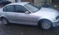 BMW 316i E46 Saloon 2005 N46 Motor N/S/Frontal rompiendo PARA REPUESTOS O/S/Traseros Plateados