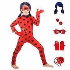 Huangweida Ladybug Chicas Disfraz de utilería Disfraz de Halloween Navidad Para Niñas