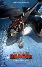 How to Train Your Dragon : The Hidden World Ver A 2Sided Orig Movie Poster 27x40