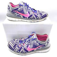 Nike Free 5.0 TR Fit 5 Athletic Shoes Purple 704695-005 Women's Size 9.5