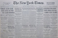 1-1933 January 11 JAPAN OPENS JEHOL DRIVE; FIGHTS CHINESE FOR PASS. SPAIN REVOLT