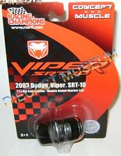 2003 '03 DODGE VIPER SRT-10 CONCEPT AND MUSCLE DIECAST RACING CHAMPIONS RC