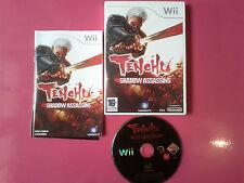 Tenchu Shadow Assassins - Nintendo WII compatible WII U - PAL complet