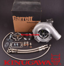 Turbocharger Garrett GT3076R 3037S Ball Bearing w/ .64 T3 V-Band & Install Kit