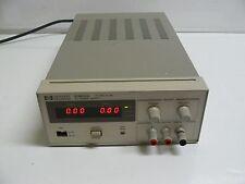 HEWLETT PACKARD E3615A DC POWER SUPPLY 0-20 VOLT 0-3 AMP