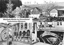 AK, Reichenau Kr. Dippoldiswalde, Weichelt-Mühle im Gimmlitztal, 1979