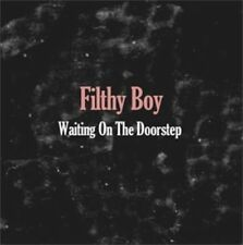 "FILTHY BOY 7"" Waiting On The Doorstep Debut Vinyl Single + Promo Info Sheet New"