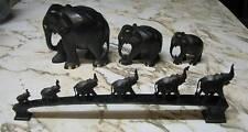 Ebony elephants