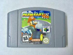 Mario Kart 64 (Nintendo 64, 1997) N64 Game Console Card US version