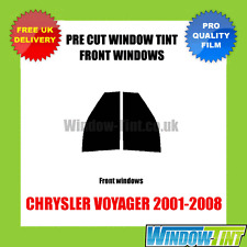 CHRYSLER VOYAGER 2001-2008 FRONT PRE CUT WINDOW TINT