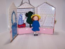 Vintage Madeline Doll House Carrying Case Doll outfits/clothing Eden Toys 1999
