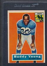 1956 Topps #096 Buddy Young Colts EX *607