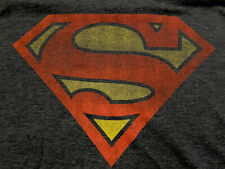 DC Comics™ COMIC CLOTHING Superman Shield (Faded Hero) XL Rare SHIRT