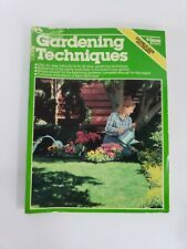Ortho Books Gardening Techniques 192 Pages Growing Seeds Beds Plants Care