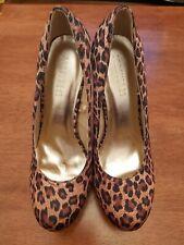 Forever 21 platform Leopard Print Shoes Size 5