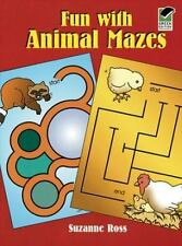 NEW Fun with Animal Mazes Suzanne Ross (1997) WD42649