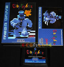 CLAY FIGHTER MegaDrive Mega Drive CLAYFIGHTER Versione Europea PAL •••• COMPLETO