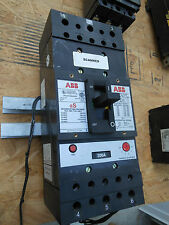 ABB 300amp type JS shunt trip & auxiliary switch circuit breaker 1yr warranty!