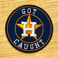 "2019 Houston Astros GOT CAUGHT Patch MLB 2.5"" Iron or Sew On Champions Cheaters"