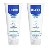 Mustela 2 In 1 Hair and Body  200ml - (Twin pack)
