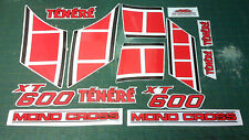 Kit completo YAMAHA XT 600 Z TENERE 1984 - adesivi/adhesives/stickers/decal