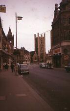 MRSAAA-083 Original Collectible Vintage 35mm Slide English Street Scene 1960s