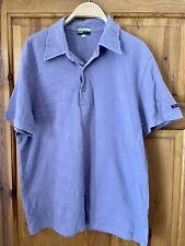 Men's Vintage Paul Smith Jeans Polo Shirt Lilac Size Medium