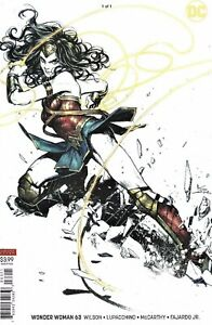 Wonder Woman #63 (2019) Kamome Shirhama Variant Cover NM DC Comics 2018 Sold Out