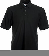 Fruit of the Loom Polycotton Polo Casual Shirts for Men