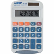 Aurora Electronics Battery Large Display Calculators