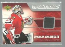2006-07 Upper Deck Game Jerseys #JNK Nikolai Khabibulin (ref37818)