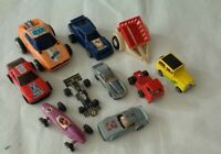 10x Vintage Diecast toys Racing cars Truck include BRM Toyota Porsche