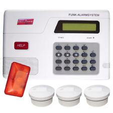 Rauchmelder DIN 14676 EN 50130 zertifiziert Haus Wohnung Set Brandwarnung Sirene