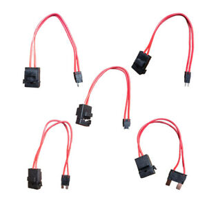 Automobile 2-Pin Power Current Collector Plug Harness Accessories