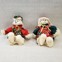 House Of Lloyd HIP & HOP Bunny Figures Christmas Around the World Bunny Set 1995