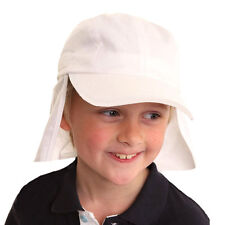 Kids Infants Babies Summer Sun Hat Foreign Legion Neck Protection UPF 40+ 9-24 m