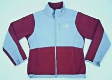 North Face Small Fleece Jacket Womens Red Gray Multicolor Size AC6W Denali Sz S