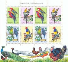 POLEN 2004 Klb Exotic breed birds(2004; Nr kat.:3967-3970)