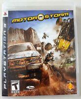 Motorstorm - Complete w/ Manual - Sony PlayStation 3