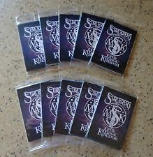 10 Unopened Packs Disney Sorcerers of the Magic Kingdom (50) Spell Cards & Map
