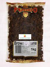 BROWN SULTANA - BROWN RAISINS - FUDCO - 1kg