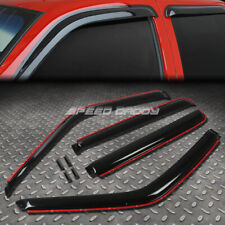 FOR 92-00 CHEVY/GMC SMOKE IN-CHANNEL WINDOW VISOR/WIND DEFLECTOR VENT RAIN GUARD