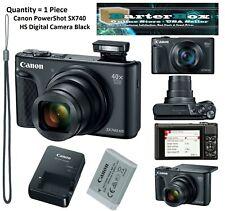 Memorial Day Sale Deal Canon PowerShot Sx740 Hs 20.3Mp Digital Camera - Black