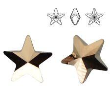Swarovski 4745 Star 10 mm Crystal ROGL (price for 1 pair)
