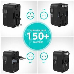 Adaptateur Universel Voyage Prises Internationale Chargeur Electrique USB